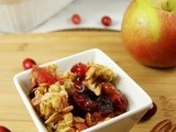 Cranberry Apple Casserole {or crisp ... or crunch}