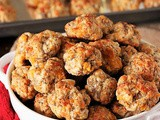 Cream Cheese Sausage Balls