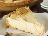 Creamy Pumpkin Mousse Pie with Gingersnap Crust