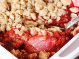 Fresh Strawberry Crisp