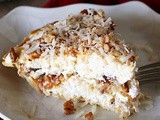 Frozen Coconut Caramel Pie