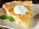 Grandma's Coconut Pie