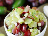 Grape Salsa ...for chips, chicken or fish