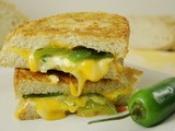 Jalapeno Popper Grilled Cheese {Crazy Cooking Challenge}
