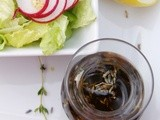 Lavender & Honey Balsamic Vinaigrette