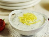 Lemon-Poppy Seed Dip with Fresh Strawberries