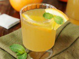 Orange-Green Tea Punch Recipe