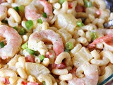 Pineapple Shrimp Macaroni Salad