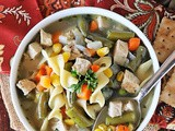 Quick Turkey Noodle Soup