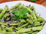 Sauteed Green Beans with Oregano