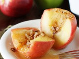 Simple Honey-Baked Apples