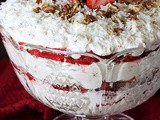 Southern Strawberry-Coconut Punch Bowl Cake