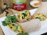Spicy Chipotle Wrap with Smoked Turkey & Mango {& Hidden Valley $1,000 Sweepstakes}