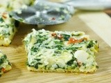 Spinach and Artichoke Dip Party Squares {Get real® on Gameday!}