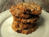 Old fasioned oatmeal cookies