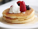 Homemade Gluten Free Pancakes Recipe