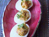 Devilled Eggs/Deviled Eggs/Eggs Mimosa