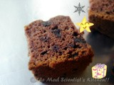 Egg less Apple sauce Chocolate Cake