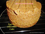 Egg-less Chocolate Cake 2 Or Whole Wheat Egg-less Chocolate Cake