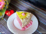 Fresh Strawberry Cake with Decoration Basics