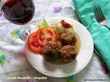 Lihapulla /Meatballs (sans the meat )Finnish way