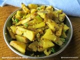 Neerphanas aa chi Bhaji/ Green or Raw Breadfruit Vegetable
