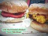 Paneer and Tofu Tikka Burger~Bloghop Wednesday #4