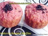 Strawberry Banana Muffins~a Sweet Punch