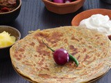 Methi Paratha | Fenugreek Leaves Flatbread