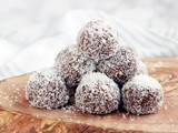 Chokladbollar: Swedish Chocolate Balls {Vegan + gf}