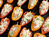 Cous Cous Stuffed Mini Peppers