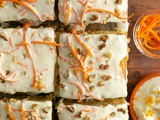 Easy Carrot Cake with Orange Mascarpone Cream