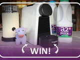 Giveaway Nespresso Essenza Mini Coffee Machine & Aeroccino 3 + a Month Supply Of a2 Milk™