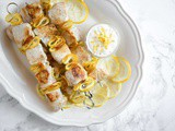 Lemon Chicken Skewers (Just 5 Ingredients!)