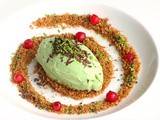 Light Matcha Tea Ricotta Cheesecake