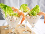 No-Mayo Salmon and Prawn Cocktail