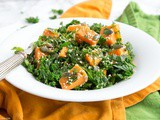 Spicy Sweet Potato and Kale Salad