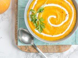 Vegan Spicy Pumpkin and Carrot Soup