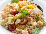 Vegetarian Greek Barley Salad