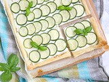 Zucchini Tart With Ricotta and Herbs