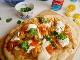 Spicy Alaska Pollock Fish & Charred Onion Flatbreads