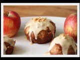 Awesome Sauce (i mean, Applesauce) and Peanut Butter Caramel Apple Muffin Cupcakes