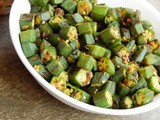 Bhindi Bhaja Recipe | How to make stir fried Okra | No Onion No Garlic
