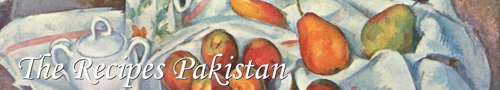 Very Good Recipes - The Recipes Pakistan