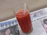 Fresh Strawberry Juice Recipe