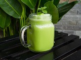 Green Smoothie with Coffee
