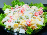 Russian Salad Recipe by Shireen Anwar