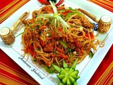 Spicy Chicken Fajita Noodles