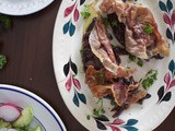 Ephemeral Time (Calves Liver à la Bordelais + Avocado and Radish Salad)