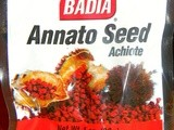 Puerto rican basics:  annatto oil (& book giveaway reminders)